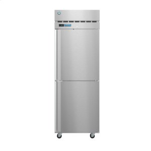 HoshizakiPT1A-HS-HS, Refrigerator, Single Section Pass Thru Upright, Half Stainless Doors with Lock