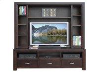 72'' Contempo HDTV Console w/ Hutch Product Image