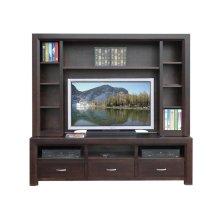 72'' Contempo HDTV Console w/ Hutch