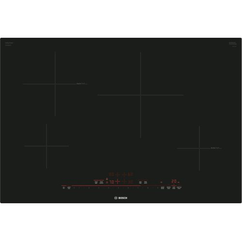 "800 Series 30"" Induction Cooktop with Home Connect , NIT8069UC, Black Frameless"