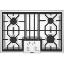 """30"""" Gas Cooktop 500 Series White NGM5024UC"""