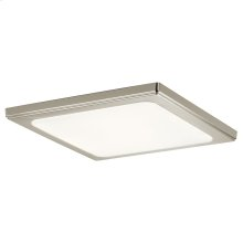 Zeo Collection Zeo 4000K LED 13 Inch square Flushmount NI