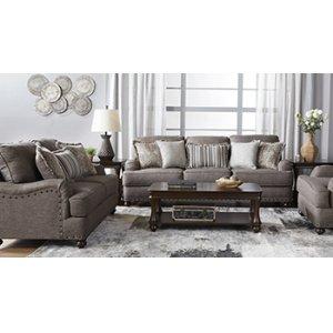 HUGHES 17200S Phineas Driftwood Sofa