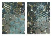 Callais Acrylic Floating Wall Art - Ast 2