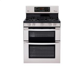 6.1 cu. ft. Capacity Gas Double Oven Range with EasyClean and IntuiTouch Controls