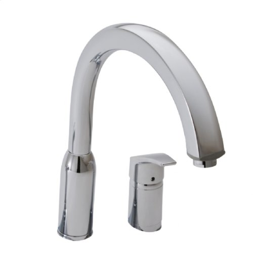 Arch Single Handle Pull Out High-Arc Kitchen Faucet  American Standard - Polished Chrome