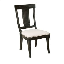 Stone Ridge Side Chair Black