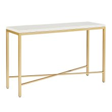Stone/marble Luxe Console Table