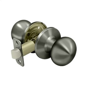 Portland Knob Passage - Antique Nickel