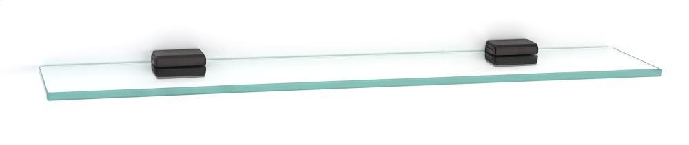 Cube Glass Shelf A6550-24 - Chocolate Bronze