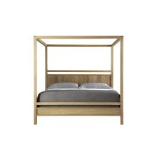 Fulton Wood Poster Headboard with Poster Canopy Footboard