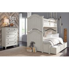 Brookhaven Youth Twin over Full Bunk Bed