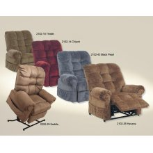 Powr Lift Chaise Recliner - Black Pearl