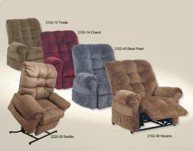 Power Lift Chaise Recliner - Chianti