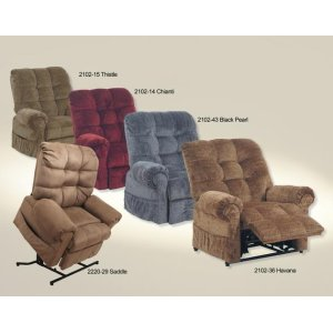 Omni 4827 Lift Chair/Recliner - Fabric 2008-45 Truffle