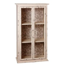 Wall Cabinet with Love Bird Pattern.