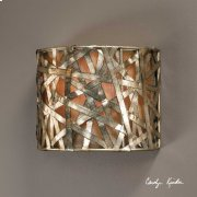 Alita Champagne, 1 Lt Wall Sconce Product Image