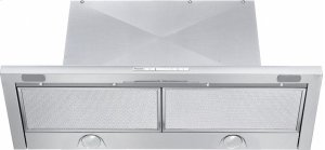 DA 3486 Built-in ventilation hood with energy-efficient LED lighting and backlit controls for easy use.