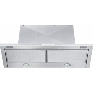 MieleDA 3486 Built-in ventilation hood with energy-efficient LED lighting and backlit controls for easy use.