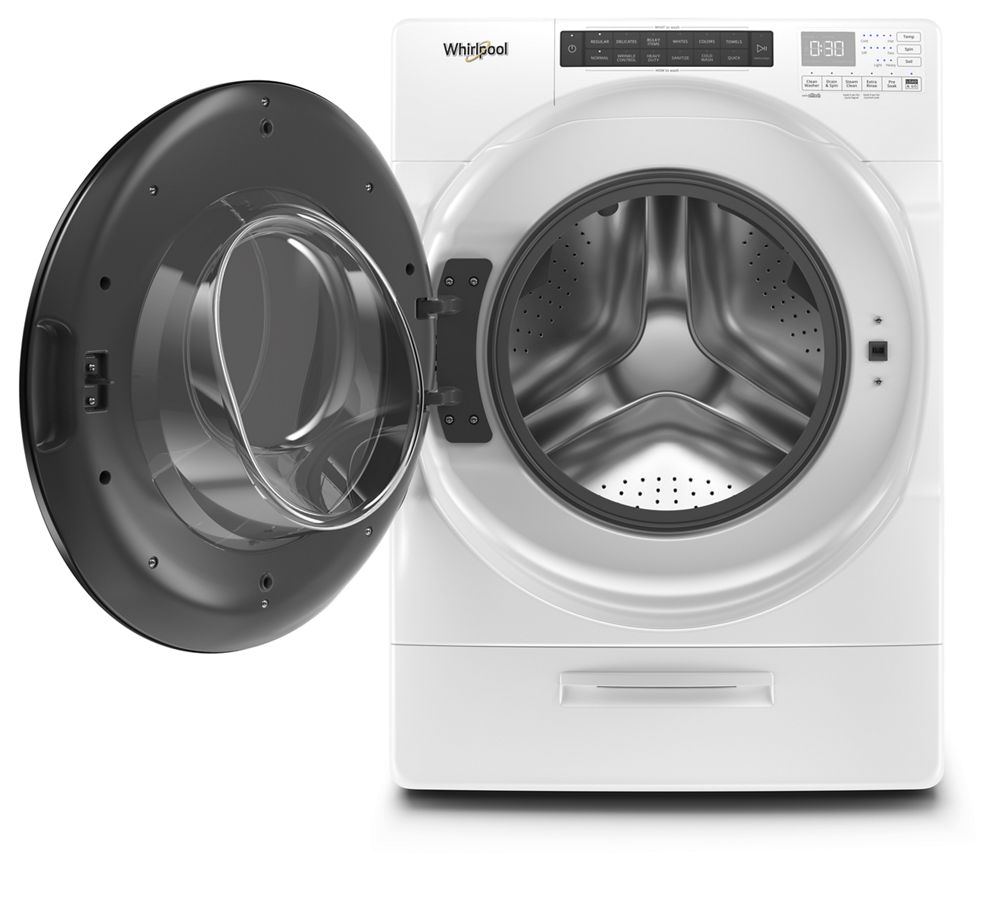 Wfw6620hw Whirlpool 4 5 Cu Ft High Efficiency White