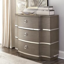 Dara Two - Bachelor Chest - Gray Wash Finish