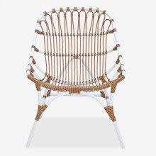 St. John Outdoor Chair - White/Brown