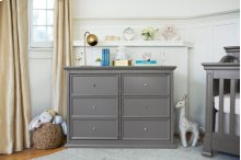 Manor Grey Foothill-Louis 6-Drawer Dresser