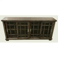 Bengal Manor Mango Wood Sliding Door Media Console