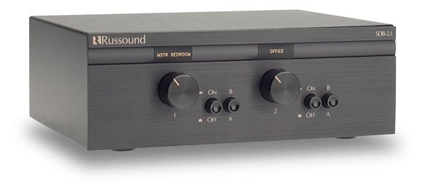 SDB-2.1 2 Pair, Dual Source Speaker Selectors with Volume Control