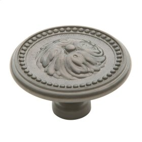 Antique Nickel Ornamental Knob