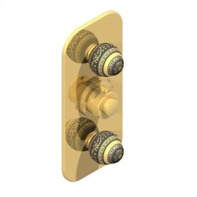 Trim for THG Thermostat With Two Valves Ref. 5400a