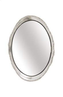 Broken Egg Mirror, Silver Leaf