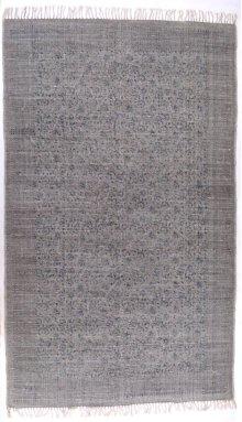 5'x8' Size Flatweave Faded Print Rug