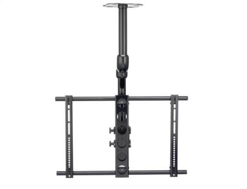 "TV Ceiling Mount for 37""-70"" TVs With Smooth Tilt & Swivel"