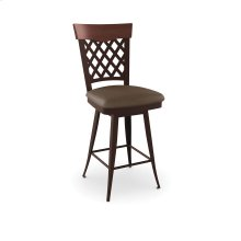 Wicker Swivel Stool