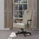 Queen Anne Desk Chair - Mahogany Product Image
