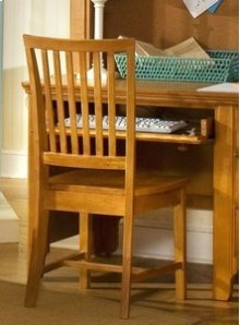 Wood Desk Chair (KD)