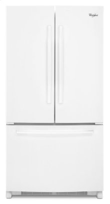 36-inch Wide Counter Depth French Door Refrigerator with Temperature-Controlled Full-Width Pantry - 20 cu. ft.