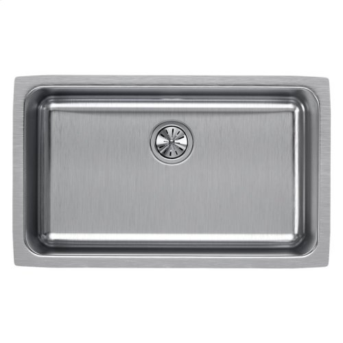 "Elkay Lustertone Classic Stainless Steel 30-1/2"" x 18-1/2"" x 10"", Single Bowl Undermount Sink"