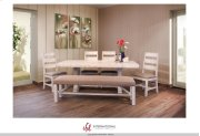 Terra White Dining Collection Product Image