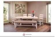 """1022 Terra White 79"""" Table"""