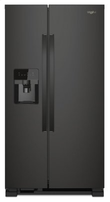 36-inch Wide Side-by-Side Refrigerator - 25 cu. ft.