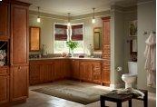 """Antique-Brass 24"""" Towel Bar"""