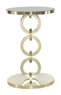 Jet Set Round Chairside Table Product Image