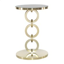Jet Set Round Chairside Table
