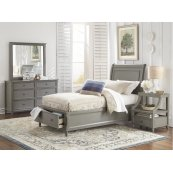 Avignon Grey Twin Panel Headboard