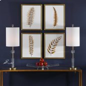 Forest Ferns Hand Painted Canvases,