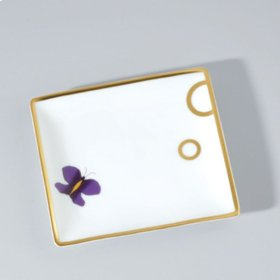 Porcelain Tray Small Size 122x110 Mm