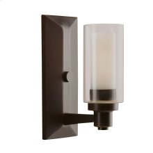 Circolo Collection Circolo 1 Light Wall Sconce - Olde Bronze