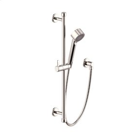 Slide Bar with Hand Shower Wallace (series 15) Polished Nickel